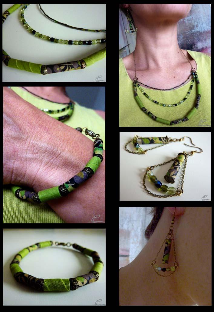 bijoux textiles